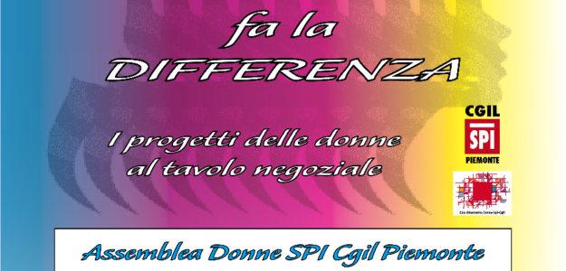 Assemblea Donne Spi Cgil Piemonte 28.10.2016
