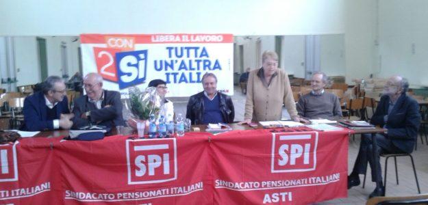 Elezione Segretario Generale SPI di Asti