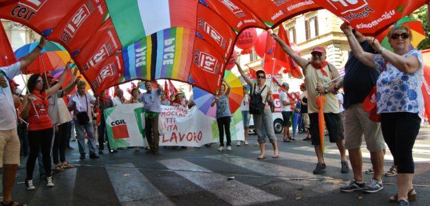 Spi Cgil del Piemonte il 17 giugno a Roma contro il ritorno dei voucher