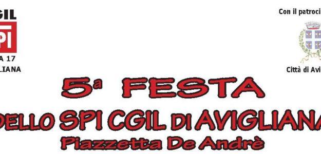 5^ Festa dello SPI CGIL di Avigliana