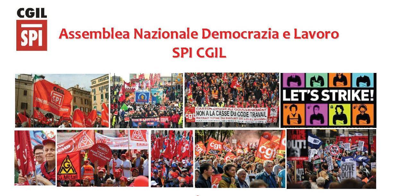Assemblea Nazionale Democrazia e Lavoro SPI CGIL
