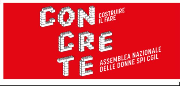 Concrete, il 4 e 5 dicembre a Roma l'Assemblea nazionale delle donne Spi-Cgil