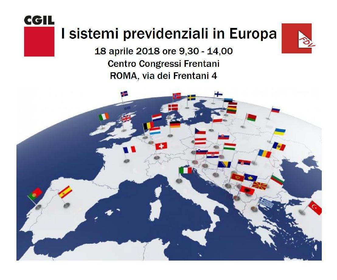 I sistemi previdenziali in Europa