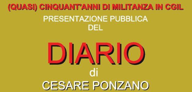 Cesare Ponzano: il diario di un militante