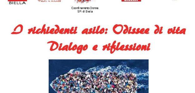 25 marzo 2019 – I richiedenti asilo: Odissee di vita – Dialogo e riflessioni